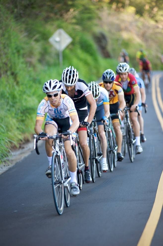Bicycle race on Kauai | Pedal To The Meadow